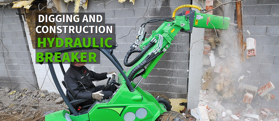 Digging and Construction - Hydraulic Breaker